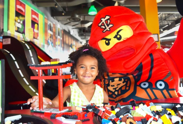 Build, play, and meet some Lego luminaries at Legoland. Photo courtesy of Legoland Discovery Center Boston