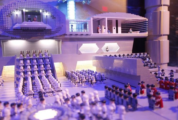 See the Star Wars MINILAND model. Photo courtesy of Legoland Discovery Center