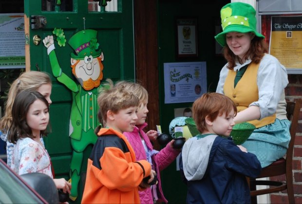 Photo courtesy of The Great Narberth Leprechaun Hunt