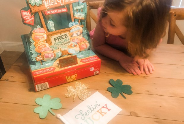 Funny Leprechaun Tricks and Traps for St. Patrick's Day Fun: Lucky Charms has Leprechaun stories