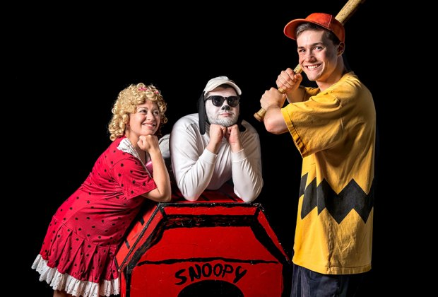 Join Snoopy and the Peanuts Gang at the Showplace at Bellmore. Photo courtesy of Plaza Theatrical productions