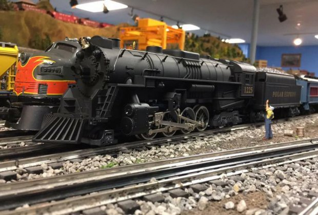 Thrill to Long Island's largest O-gauge layout at the Nassau County Operating Engineers open house. Photo courtesy of the venue