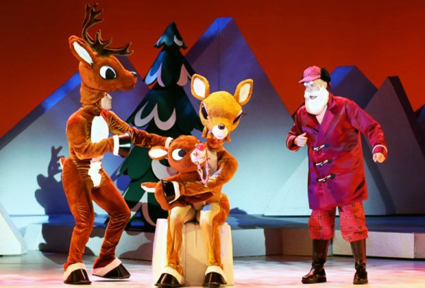 Rudolph the Red-Nosed Reindeer and friends come to NJ in a musical version of the hit holiday special.