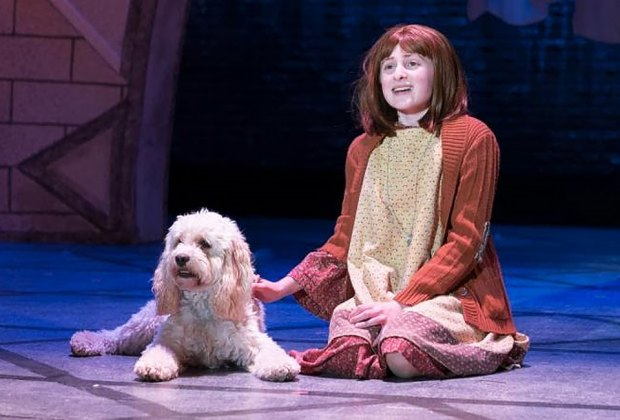 The irrepressible comic book heroine Annie takes center stage at the Engeman Theater. Photo courtesy of the theater.