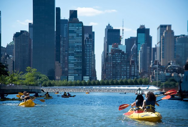 Long Island City Community Boathouse Free Kayaking
