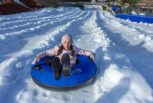 Get your adrenaline fix at Snow Island before it closes for the season. Photo courtesy of the event