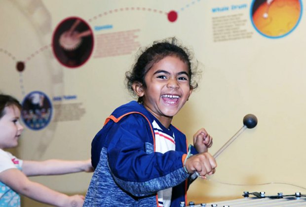 Score a free museum pass with your library card for the Long Island Children's Museum. Photo courtesy of LICM