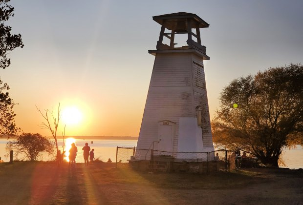 Lighthouse at Fort Washington National Park