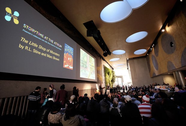 The David Rubenstein Atrium hosts a variety of free events for kids.