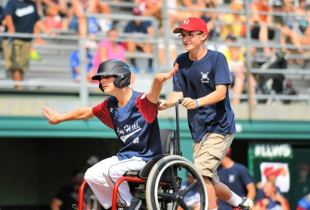 Little League's Challenger Division. Photo courtesy of Little League Baseball and Softball