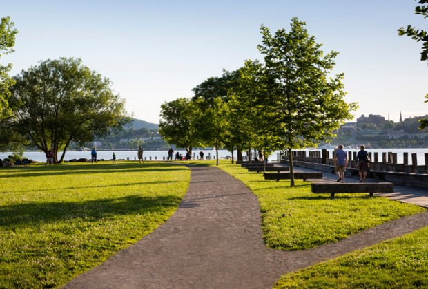 Long Dock Park sits on a scenic waterfront location Things to do in Beacon with Kids