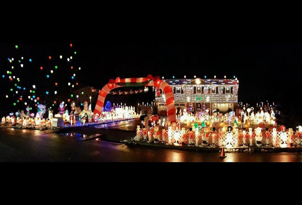 James Island Christmas Lights 2017