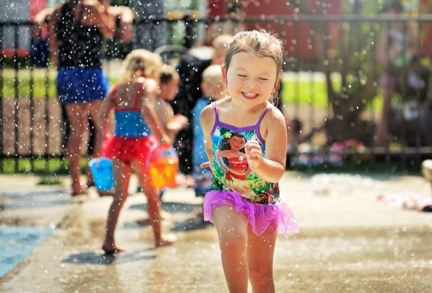 Spraygrounds and Splash Pads for Kids in Fairfield County