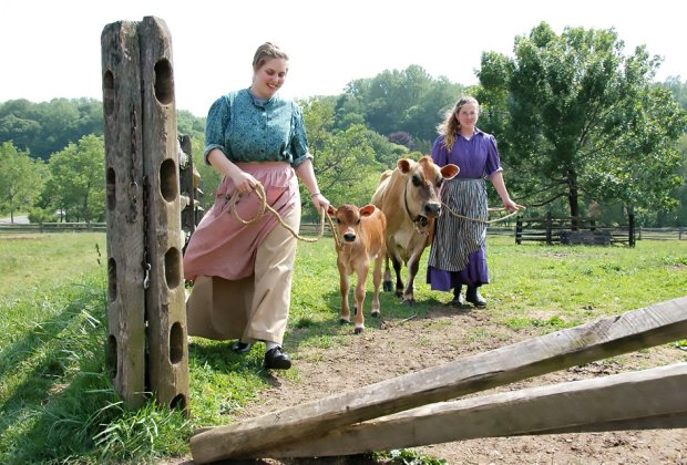 Nj S Living History Farms Old Fashioned Farm Fun For Families Mommypoppins Things To Do In New Jersey With Kids