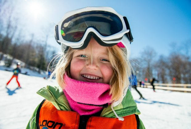 Group and private lessons—and 'smores parties!—are available at Loon. Photo courtesy of Loon Mountain Resort