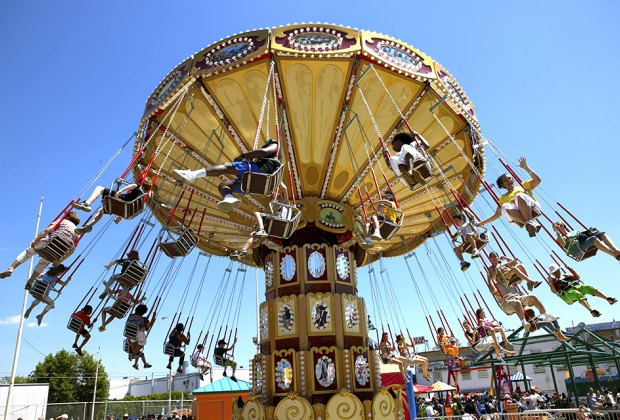 Soar at Luna Park this spring. Photo by Alex Lopez for NYCGo