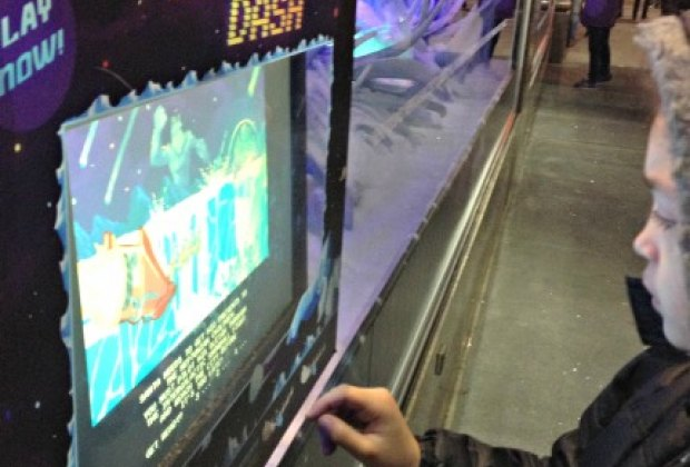 Macy's Santa's Sleigh Dash video game is a hit with kids