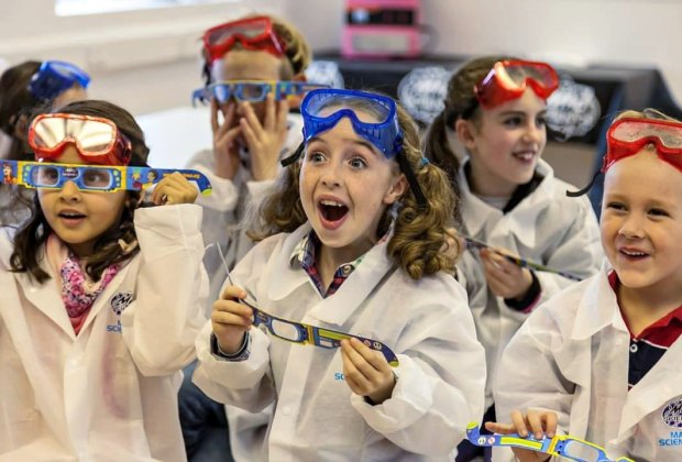 Enjoy science shows and more at the Super STEM Blast-Off Event. Photo courtesy of Mad Science Laboratory