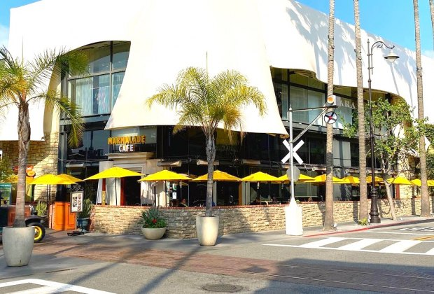 LA Restaurants with Outdoor Seating for Kids: Marmalade Cafe at the Grove.