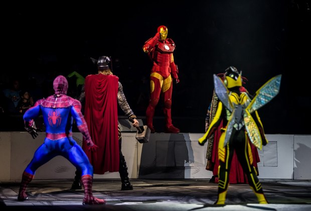 Head to the Prudential Center to see some of Marvel's greatest heroes and  most threatening villains. Photo courtesy of the production
