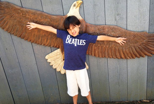 Nature lover? Compare your wingspan to that of a raptor at Quogue Wildlife Refuge. Photo by Jaime Sumersille