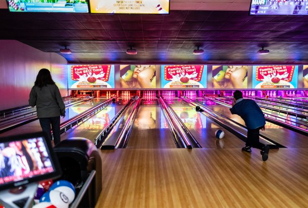 Hit the lanes at Melody Lanes Bowling Alley