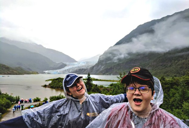 <i>A visit to Mendenhall Glacier is a must-do in Juneau.</i>