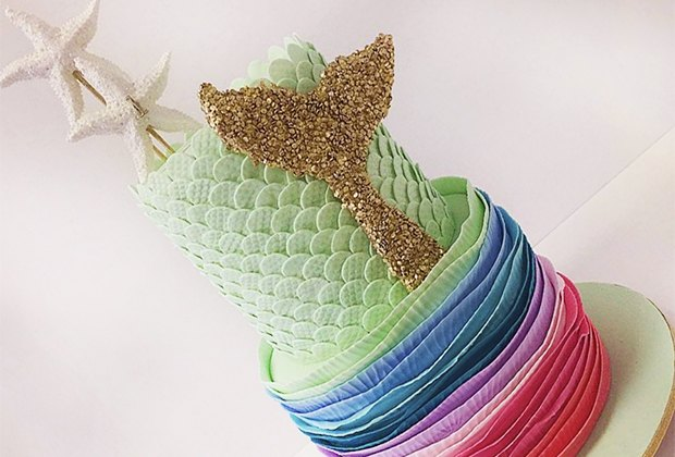There Should Always Be Cake's elegant mermaid cake