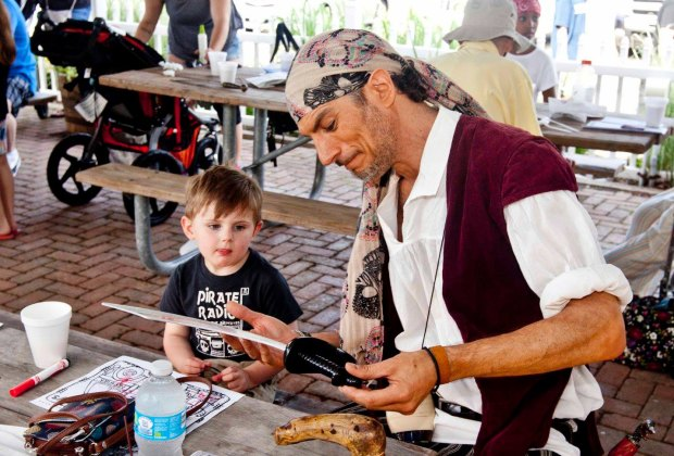 Milford Pirates Day. Photo courtesy of Downtown Milford Business Association