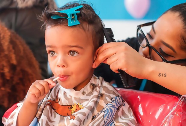 You don't have to wait until after your haircut to get a sweet at Milk and Cookies hair Salon.