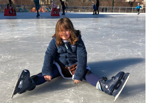 Skaters of all stripes are welcome at the new Steven & Alexandra Cohen rink in Stamford. Photo by Ally Noel​