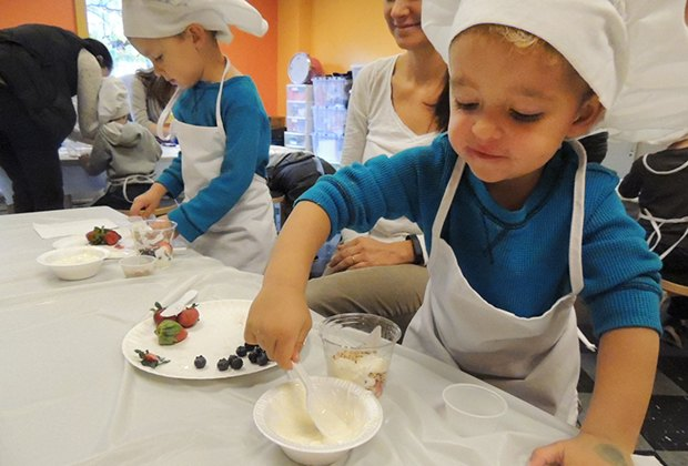 Presidents week for li kids cooking class swim or skate for Craft classes long island