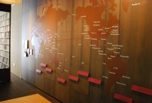 A map traces Chinese Diaspora
