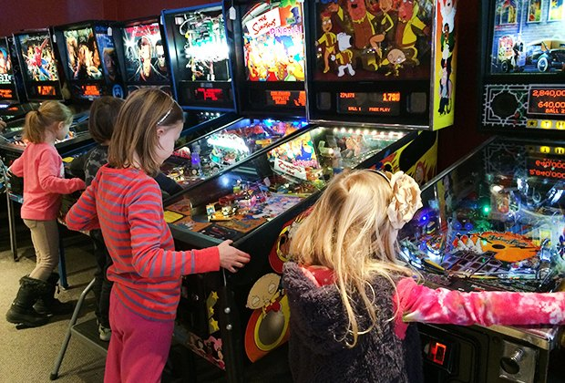 Play Retro Video Games at These Family Arcades