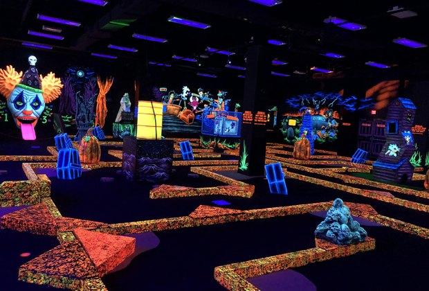 Monster mini Golf indoor shot Top Indoor Play Spaces for Kids in Westchester That Are Open Now