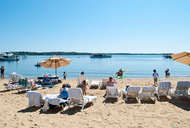 You can't beat the beautiful beaches on Long Island's East End. Photo courtesy of Montauk Yacht Club
