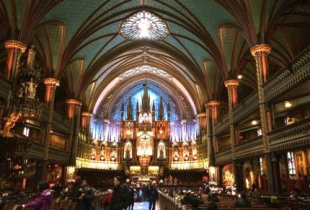 A touch of Old World architecture in Montreal