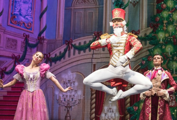 This Nutcracker is in town for a limited (and very special) engagement. Photo courtesy of Moscow Ballet