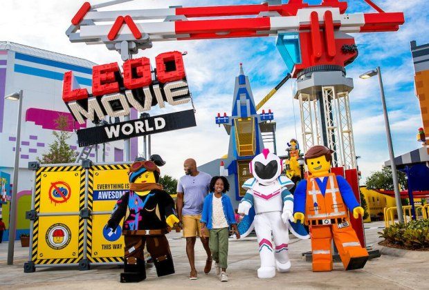 New at the SoCal Amusement Parks: Lego Movie
