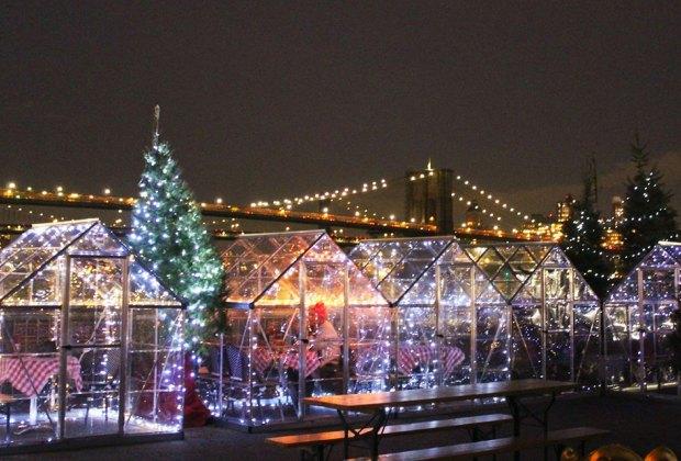 Watermark's Winter Wonderland NYC birthdays for kids