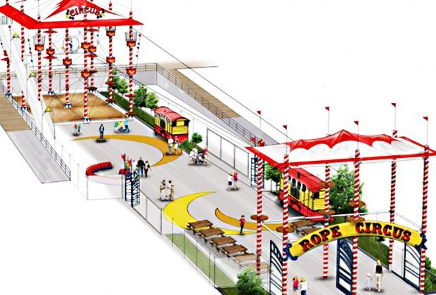 Luna Park Ropes Course New Openings We're Anticipating in NYC in 2021