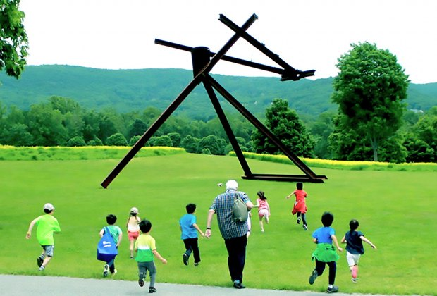 Stroll the grounds or participate in a hand-on workshop at Storm King. Photo courtesy of the museum