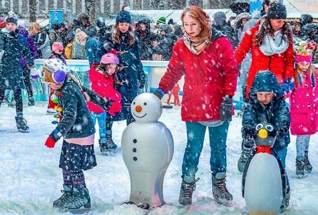 Winter Village at Bryant Park is Manhattan's winter wonderland. Photo by Angelito Jusay