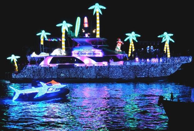 Boat Parades: Newport Beach, the Marina