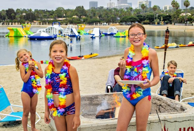 SoCal Campgrounds with Extra Entertainment For Kids: Newport Dunes