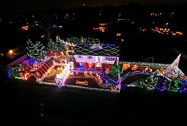 Most Spectacular Holiday and Christmas Light Displays in New