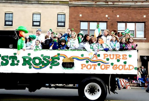 Celebrate St. Patrick's Day at the Belmar Parade on Sunday, March 1. Photo courtesy of Belmar Parade