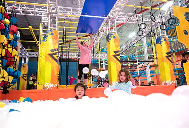 Climb, bounce, and jump at Urban Air, with three (soon to be four) NJ locations. Photo courtesy of the park