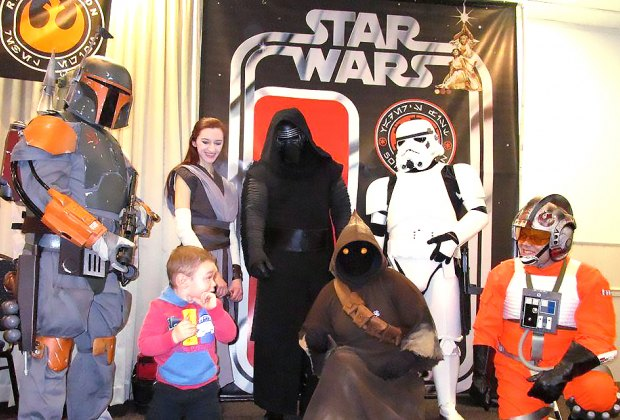 Kids can meet their favorite characters at the Jersey Shore Spring Comic Book Show. Photo courtesy of the show