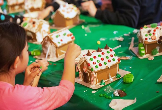 Kids can create their own home sweet home at Liberty Hall Museum. Photo courtesy of the museum.